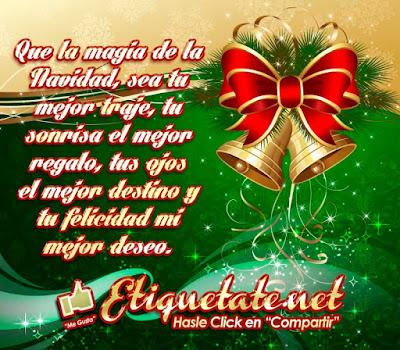Lindas dedicatorias navideñas con frases hermosas