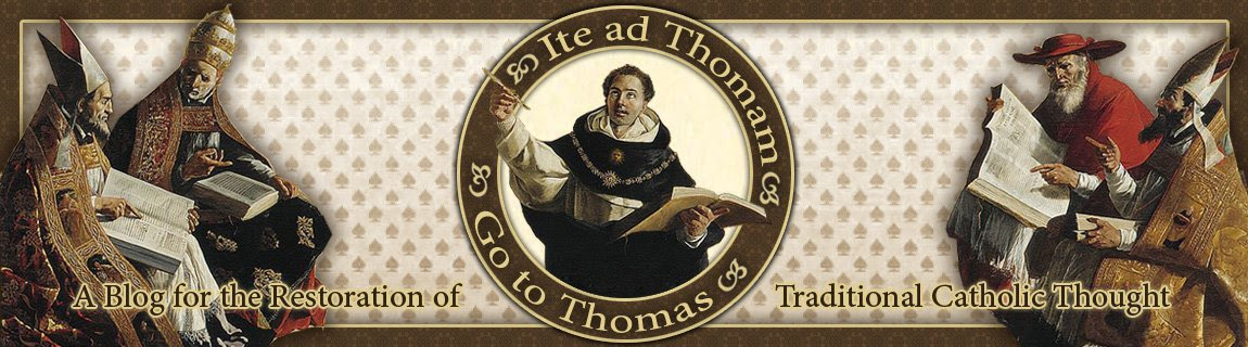 "Ite ad Thomam: ""Go to Thomas!"""