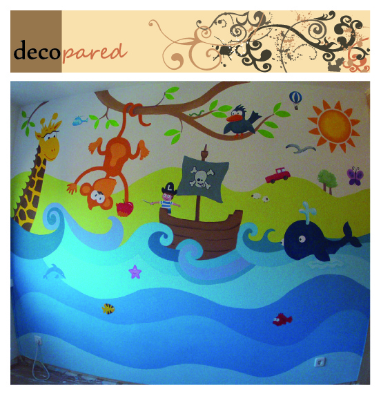 decopared: murales decorativos para paredes