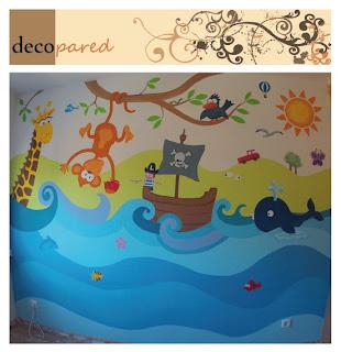 Decopared murales decorativos para paredes - Murales decorativos pared ...