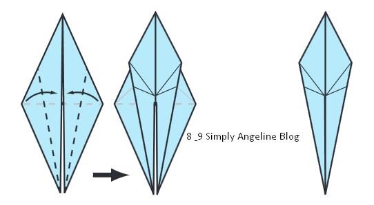 Cara Membuat Origami Burung