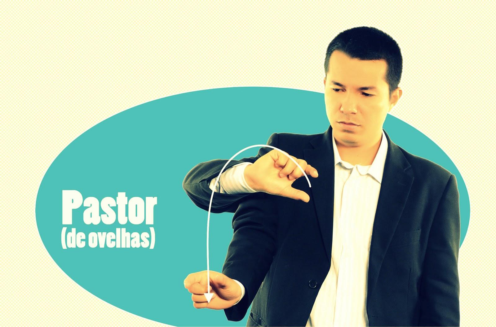 Comunicar ministério com / de surdos: Sinal de pastor em LIBRAS #B8B813 1600 1056