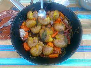 Formula para Cozinhar batatas.