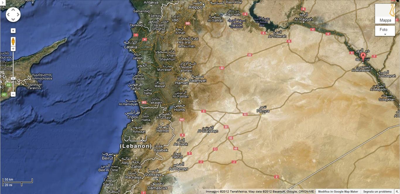 Psicologia e Interazioni: Dayr Al-Zawr (Est Siria)