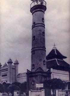 Masjid Agung Kauman Kota Pekalongan Tempo Dulu