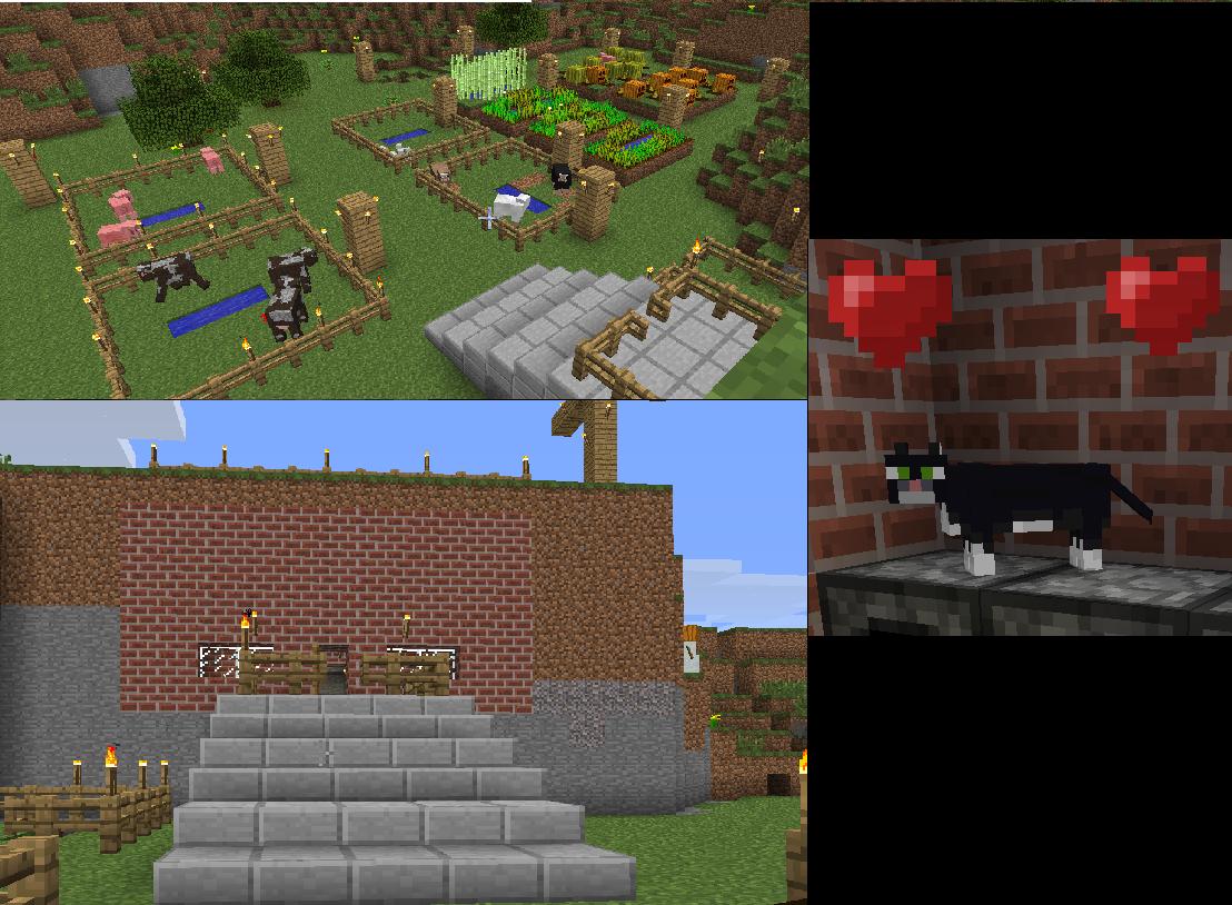 Come Fare Un Letto Su Minecraft : Lovingames: minecraft per fare un tavolo
