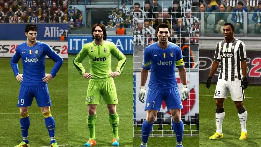 PES 2013 Juventus 14-15 GDB Update by Vulcanzero