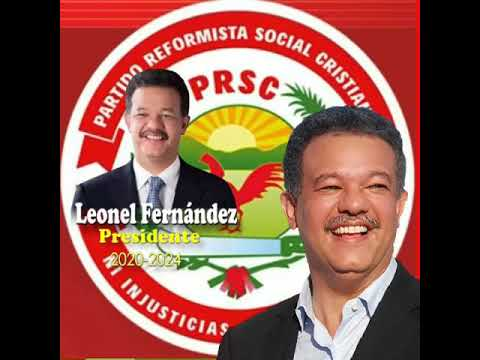 LEONEL FERNANDEZ REYNA, candidato presidencial del PRSC/LFP y aliados