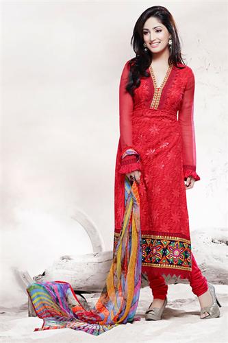 Latest Pakistani Shalwar Kamiz Semi Formal Dresses 2015 Lifestyle 350