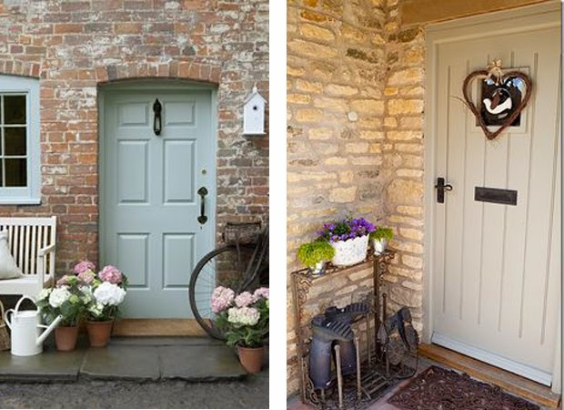 Laura Adkin Interiors Modern Country Front Doors
