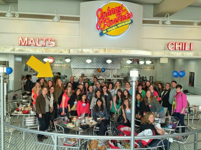 How To Survive Your First Blogging Conference; Johnny Rockets