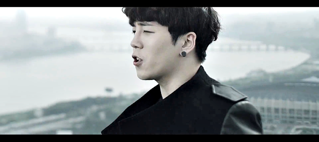 Taeil block b be the light mv screencap