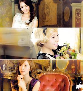 SNSD Yoona Sunny Jessica Desk Calendar 2013 2