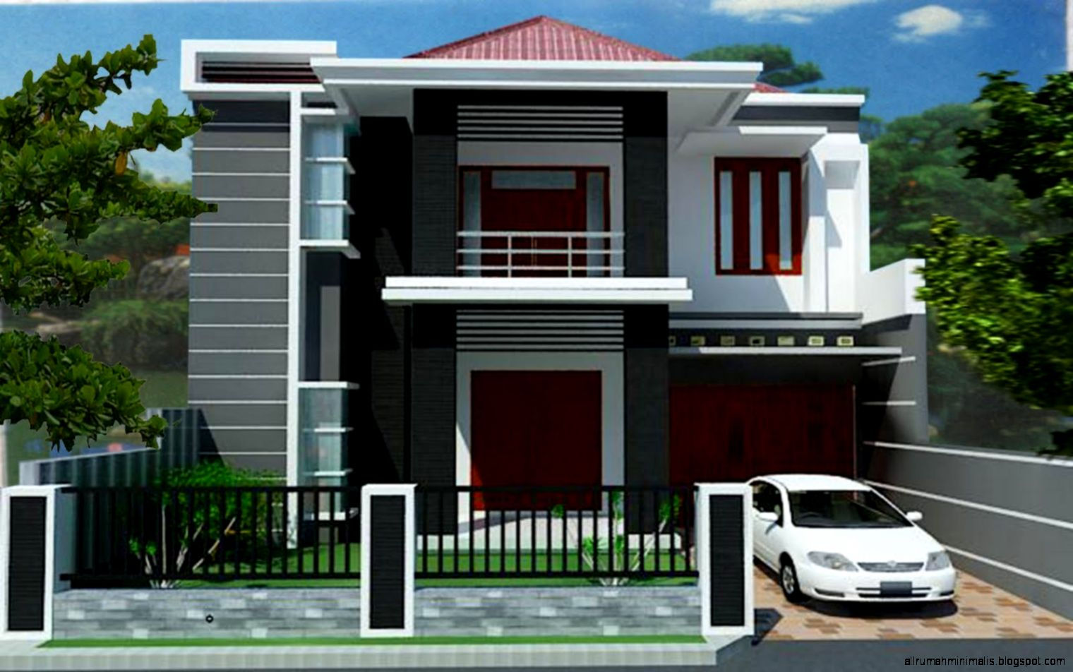 june 2015 design rumah minimalis