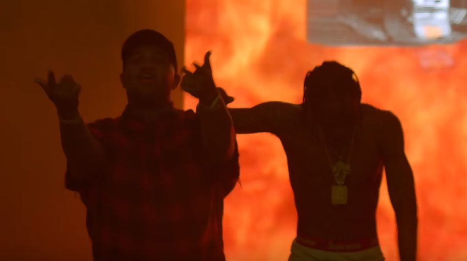 DJ Mustard - Whole Lotta Lovin' (Feat. Travi$ Scott) [Vídeo]