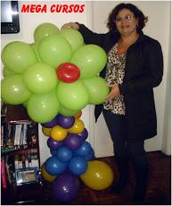 Curso de Decorações de Baloes Avançado