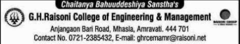 GH Raisoni Engineering College Amravati
