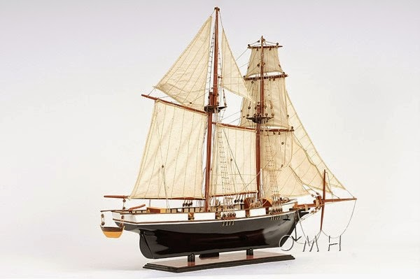 1800 Baltimore Clipper Harvey