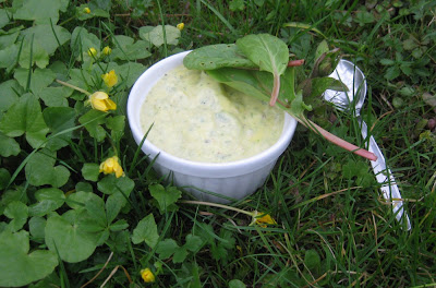 Sauerampfer-Mayonnaise