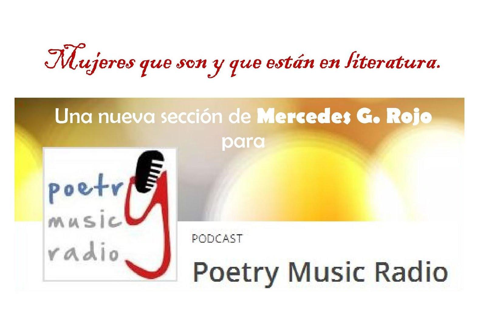 SECCIÓN RADIOFÓNICA EN POETRY MUSIC RADIO