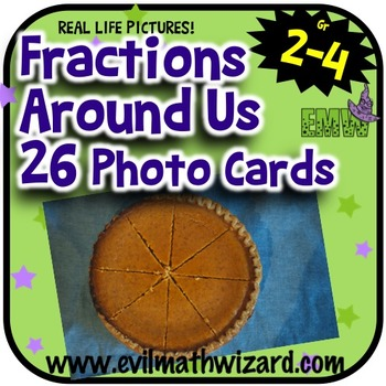 https://www.teacherspayteachers.com/Product/Fraction-Task-Cards-Fractions-Around-Us-26-Real-Life-Pictures-1711591