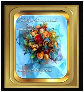 Recebido de mamymilu.blogspot.com - Mimo da minha querida amiga Carmen.
