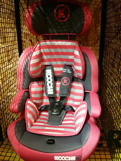 Mix Magenta Motohero Koochi Car seat
