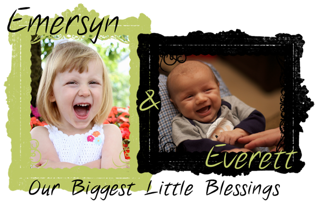 Emersyn and Everett, Our Biggest Little Blessings!