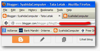 Daftar Bookmarks di Mozilla Firefox
