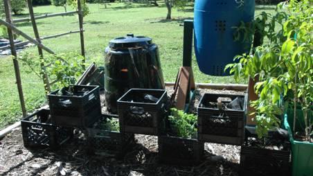 the milk crate garden - Milk Crate Garden