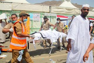 Pilgrims killed in mecca Saudi Arabia,Dead Nigerian pilgrims.