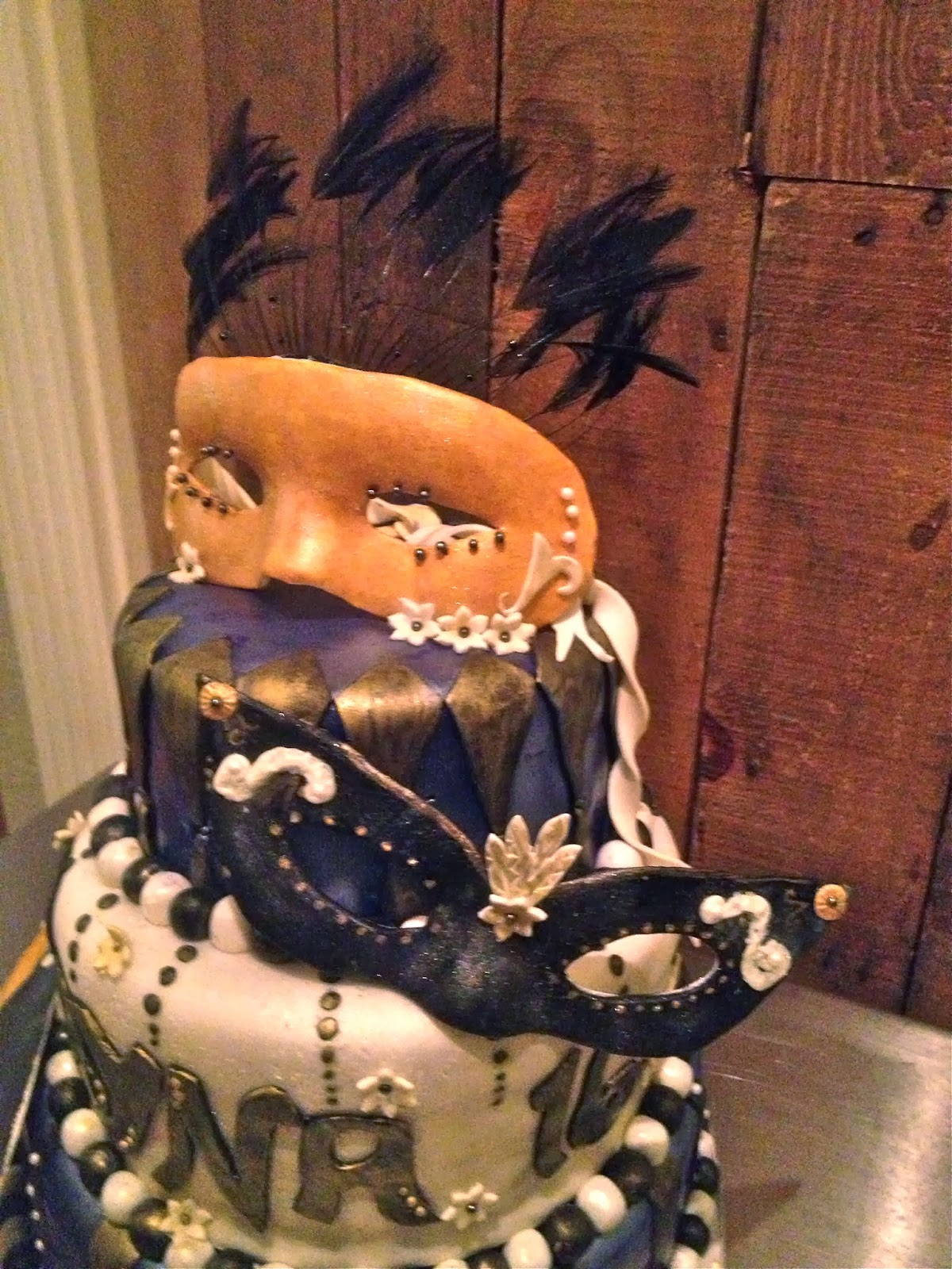 Sweet Ts Cake Design Sweet 16 Masquerade Mask Themed Birthday