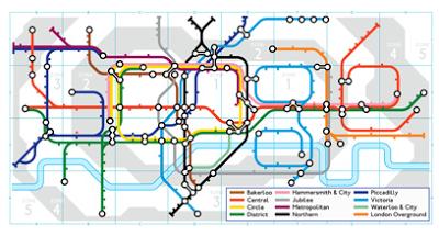 London Underground Google Doodle