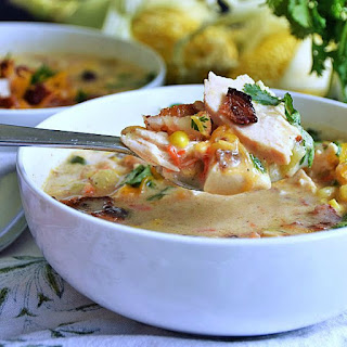 Fresh Corn and Chicken Chowder | by Life Tastes Good