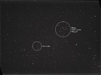 M39 and NGC 7082