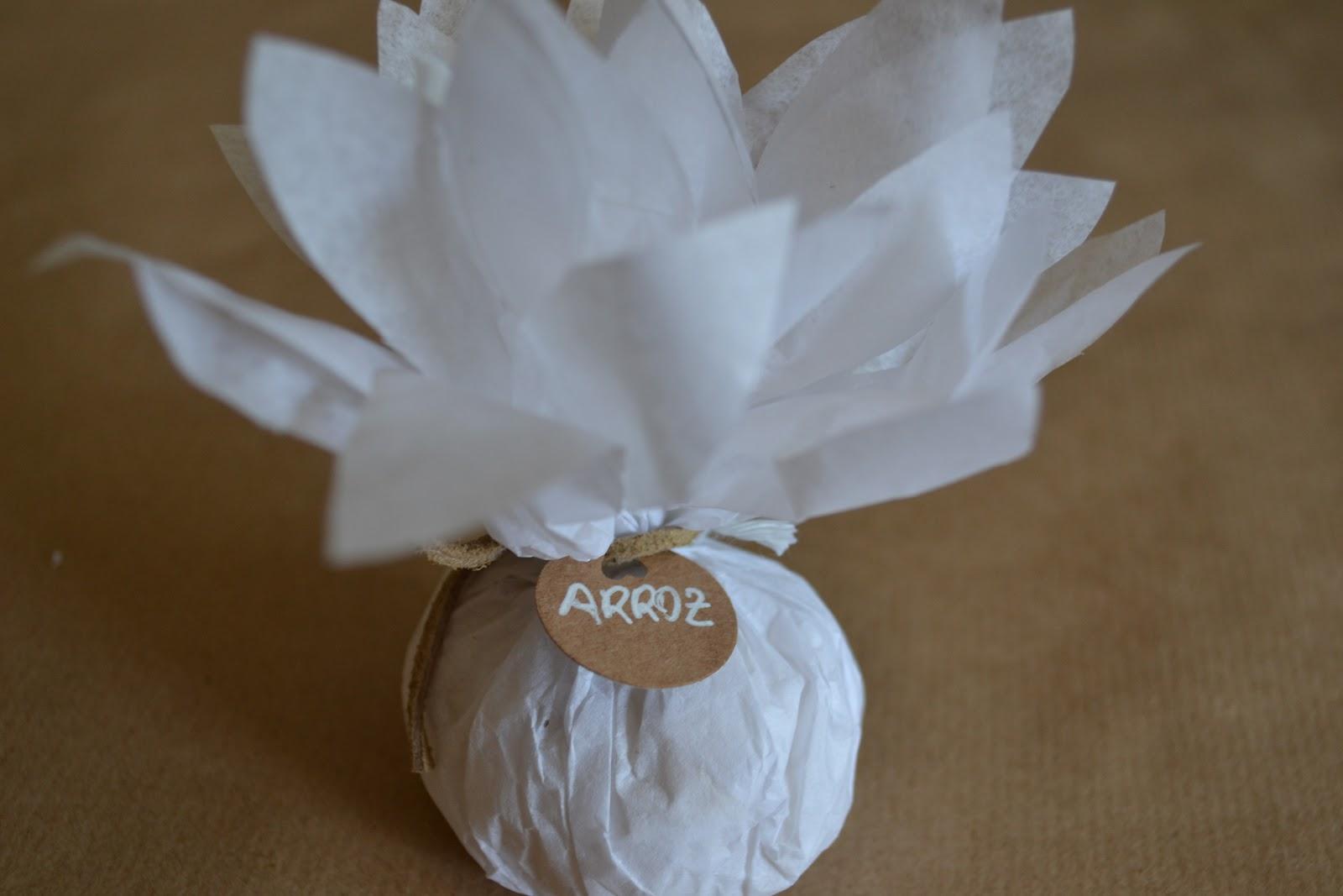 ideas para preparar el arroz de una boda