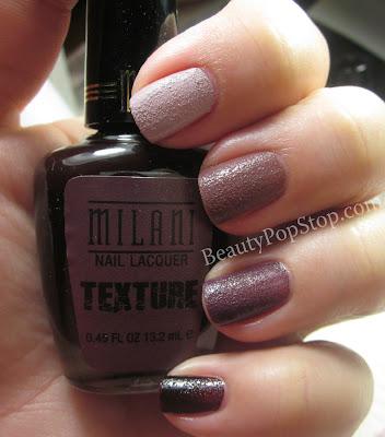 Milani Texture Nail Polish Review