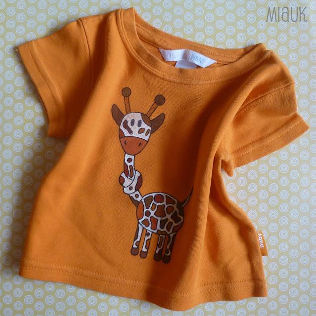 malované tričko pro miminka
