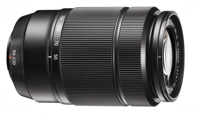 Fotografia dello zoom Fujinon XC 50-230mm f/4.5-6.7 OIS colore nero