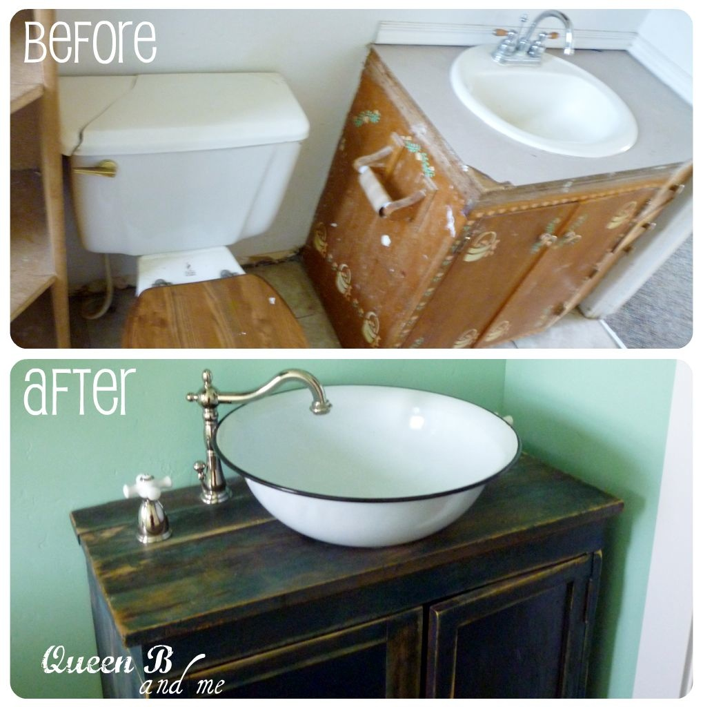 Redoing a small bathroom on a budget for Small bathrooms on a budget