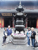 No Templo do Buda de Jade