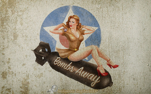 Pin-Up: Fondo de pantalla | Vintage | Wallpaper