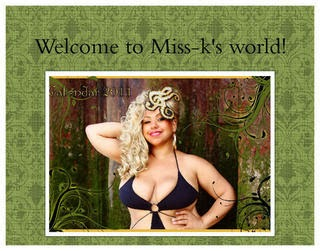 Purchase Miss-K's Kalendar 2011, click on the picture below