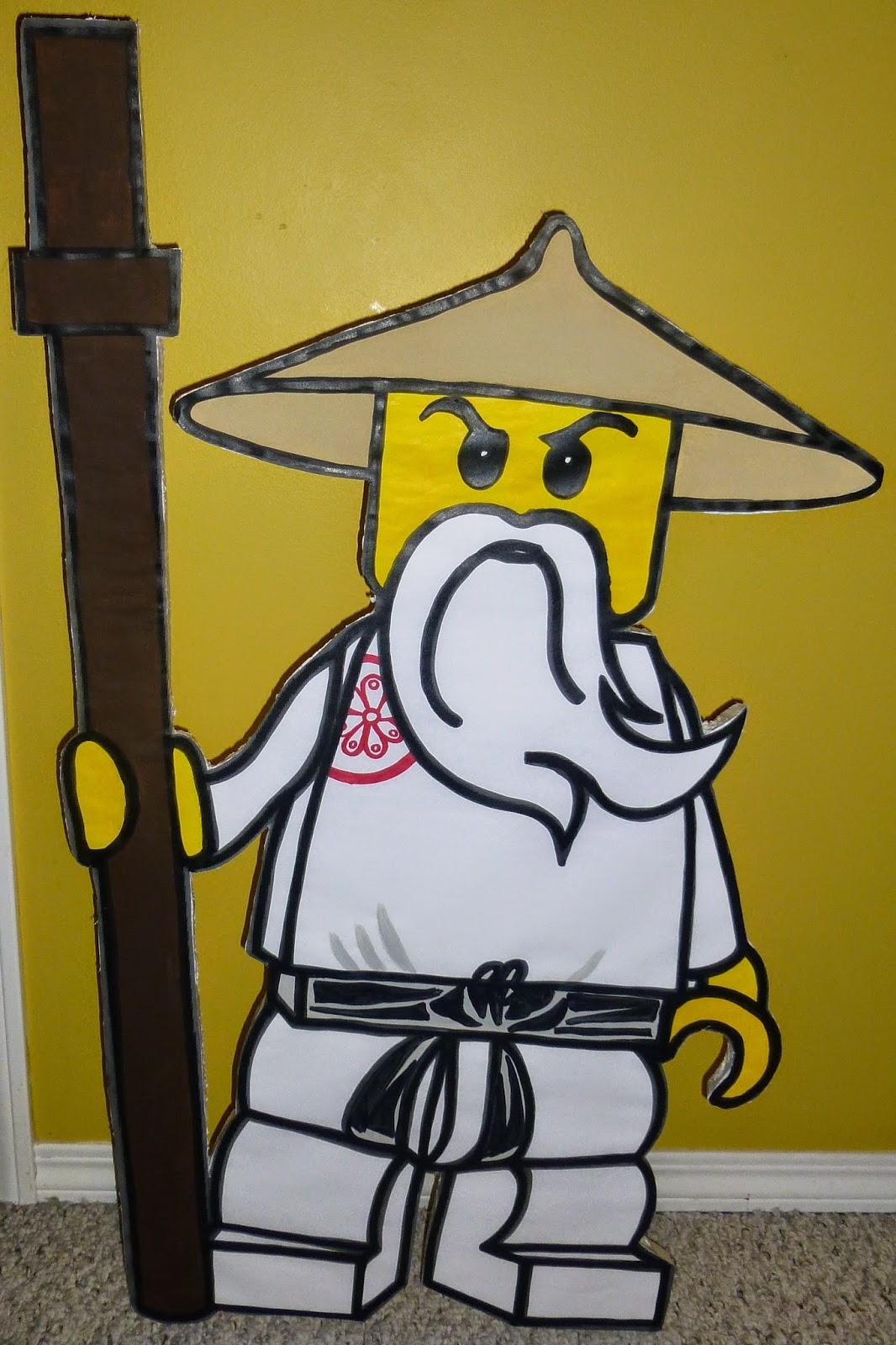 Utopia party decor ninjago party - Ninjago sensei wu ...