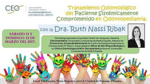 Tratamiento Odontologico del Paciente Sistemáticamente Comprometido en Odontopediatria