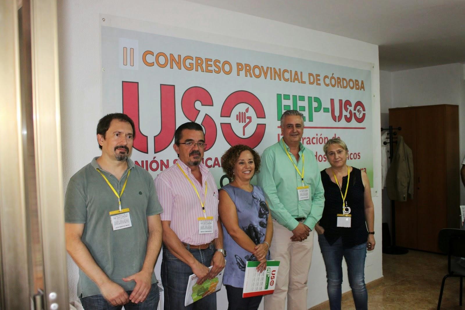 II Congreso provincial de Córdoba FEP-USO