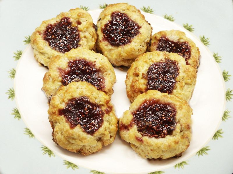 Moveable Feasts: Walnut Jam Scones