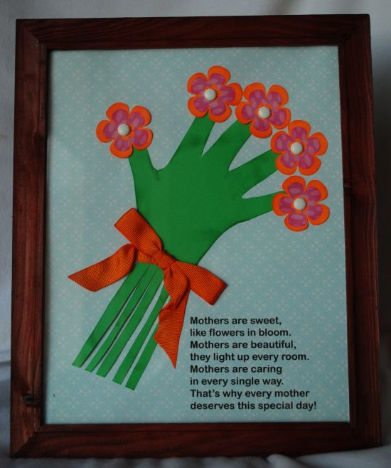 Amanda 39 s crafts and more happy mother 39 s day for Mothers day painting crafts