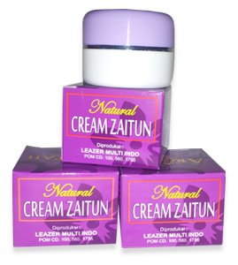 cream zaitun
