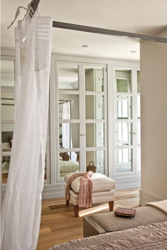 Casa tr s chic closets e banheiros for Closet modernos para habitaciones